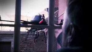 Two arrested, drone seized after suspected contraband drop