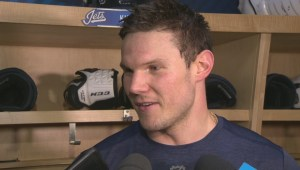 RAW: Winnipeg Jets Dmitry Kulikov Interview