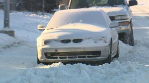 Hundreds of tickets issued in first few hours of Calgary's snow route ban