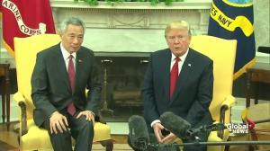 Trump announces massive Boeing deal with Singapore