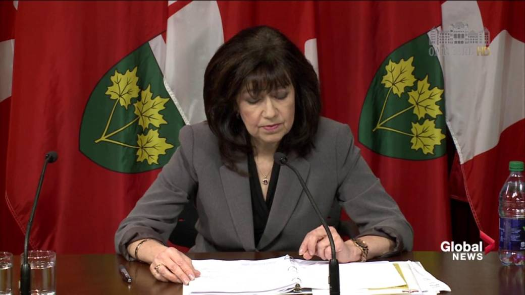 Click to play video 'Ontario Auditor General accuses Wynne government of intentionally hiding true cost of hydro reduction'