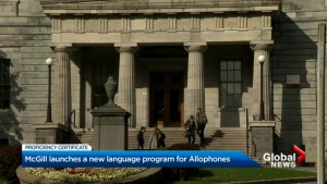 McGill University launches new program for allophones