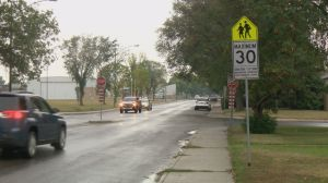 Saskatoon police reminding drivers to slow down for school zones
