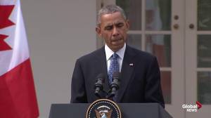 Obama says Canada, US 'fully united' in combating climate change