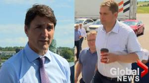 Prime minister, official opposition leader in Fredericton