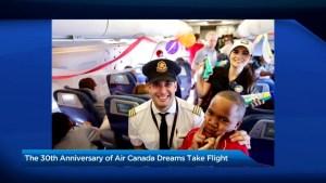 The 30th anniversary of Air Canada's Dreams Take Flight