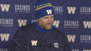 RAW: Blue Bombers Mike O'Shea Media Briefing – Oct. 9