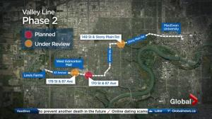 Edmonton Election 2017: LRT expansion growing pains have candidates debating how to build future lines