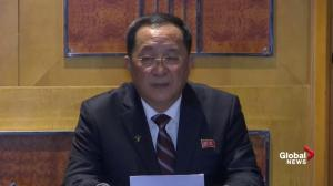 North Korea claims they'd be willing to dismantle all nuclear facilities if sanctions lifted
