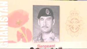 Canadians killed in Afghanistan honoured at re-dedication ceremony