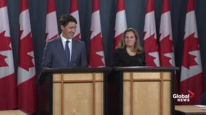 Trudeau's full statement on new trade deal, USMCA