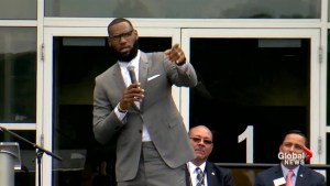 LeBron James opens learning centre for youth in home town