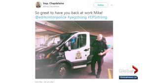 EPS Const. Mike Chernyk returns to work