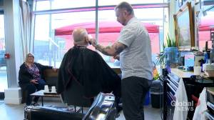 Halifax barbershop celebrates first anniversary by giving back to the community