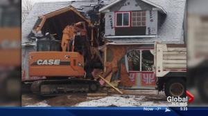 New Alberta house demolished after it was built without proper permits