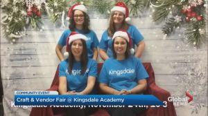 Community Events: Kingsdale Academy's Craft & Vendor Fair