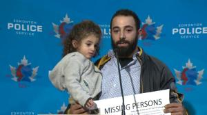 Police hold news conference to update search for missing Edmonton teacher