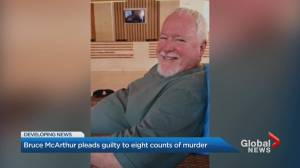 Bruce McArthur pleads guilty to 8 counts of 1st-degree murder
