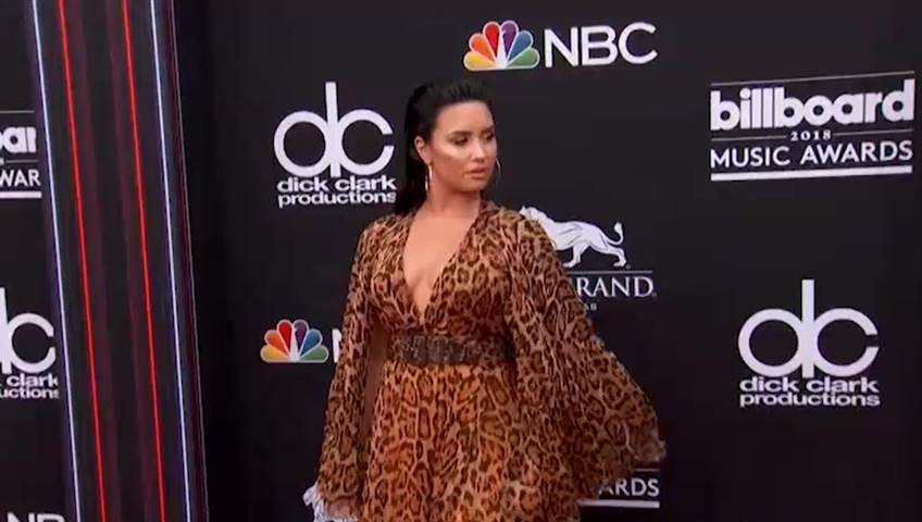 Demi Lovato 'grateful for support' in heartfelt note after overdose
