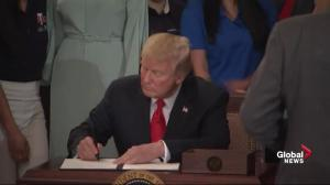 Trump signs executive order as part of 'pledge' to American worker