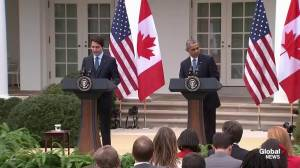 Prime Minister Trudeau outlines host of issues on which Canada, US agree