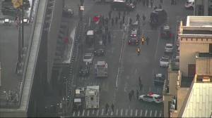 New York authorities respond to reported explosion at bus terminal