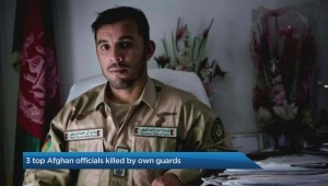 3 top Afghan officials killed by own guards