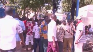 Gunfire outside Burkina Faso TV headquarters after general Lougue visits