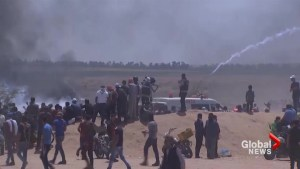 Gunfire from Israeli troops kills 18 Gaza protesters