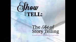 A preview of the Kingston School of Art's Show & Tell: The Art of Story Telling