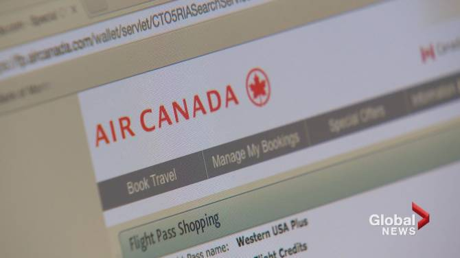 air canada customers angry after flight pass deal removed. Black Bedroom Furniture Sets. Home Design Ideas