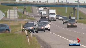 Drivers heading west of Calgary face delays, closures over long weekend