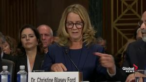 Christine Blasey Ford's full statement to U.S. Senate on alleged sexual assault by Brett Kavanaugh