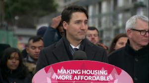 Trudeau says reason for delay in housing money is 'to get this right'