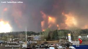Fort McMurray wildfire: Video timeline of events