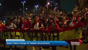 Spain takes further steps to impose direct rule over Catalonia