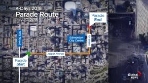 Take a look at the K-Days Parade route