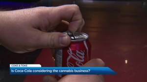 Is Coca-Cola getting into cannabis?
