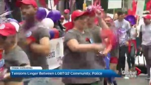 Tensions linger between LGBTQ2 community, police