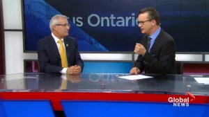 Finance Minister Fedeli discusses proposed plan for Toronto's Metrolinx