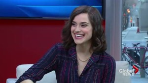 Houdini & Doyle actress visits Global News at Noon
