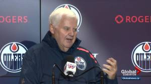 Ken Hitchcock talks about what it's like coaching in Edmonton