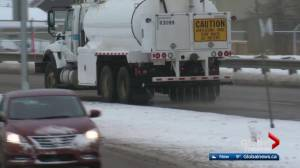 Calcium chloride will be used on Edmonton roads again next winter