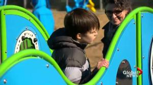 New sensory playground open in Saskatoon for kids with disabilities
