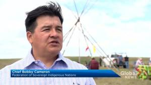 FSIN proposes teepee camp at contested road project in western Sask.