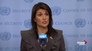 Nikki Haley threatens to stop funding Palestinian refugees unless negotiations continue (00:43)