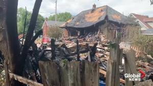Video shows aftermath of massive explosion that jolted a London, Ont. neighbourhood and forced the evacuation of 100 homes