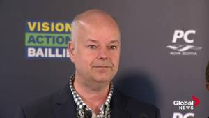 Nova Scotia PC Leader Jamie Baillie responds to Liberal campaign staff controversies