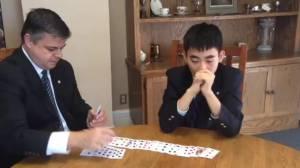International Master of Memory – Evan Xie