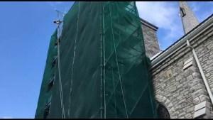 New windows smashed at Campbellford church